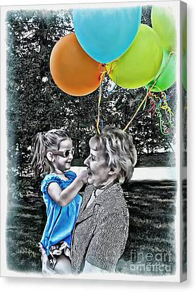 Birthdays Canvas Print by Joan  Minchak