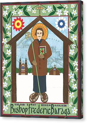 Bishop Frederic Baraga Icon Canvas Print by David Raber