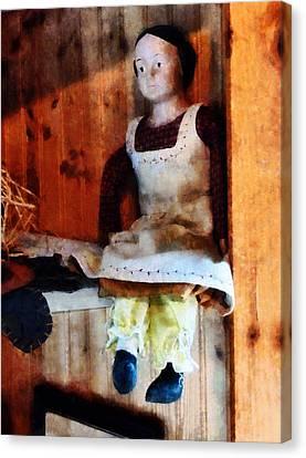 Bisque Doll Canvas Print by Susan Savad
