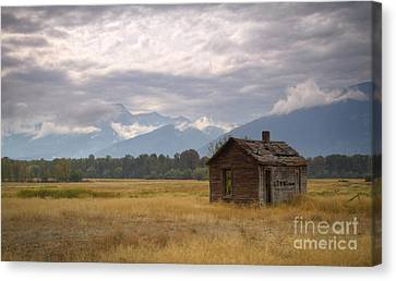 Bitterroot Homestead Canvas Print by Idaho Scenic Images Linda Lantzy