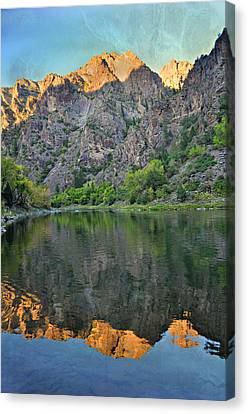 Black Canyon 4 Canvas Print by Marty Koch