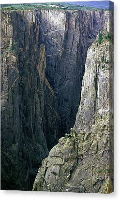 Black Canyon National Park Close View Canvas Print