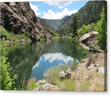 Black Canyon River Canvas Print