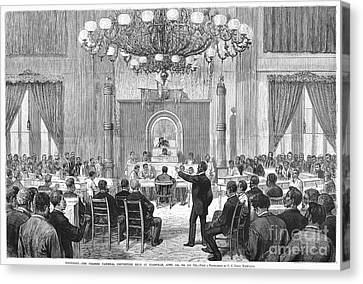 Black Convention, 1876 Canvas Print by Granger