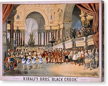 Black Crooks Was First Produced In New Canvas Print by Everett