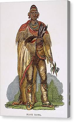 Black Hawk (1767-1838) Canvas Print
