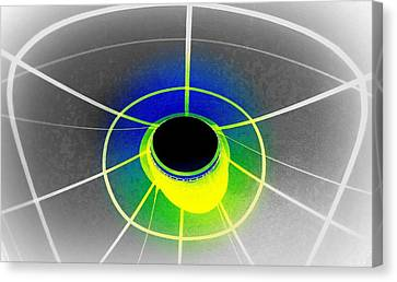 Black Hole With Aura Canvas Print by Randall Weidner