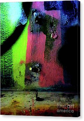 Canvas Print featuring the photograph Black Light by Newel Hunter