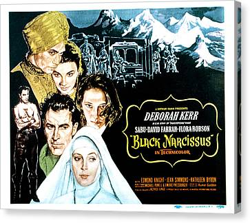 Black Narcissus, David Farrar, Sabu Canvas Print by Everett