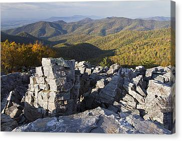 Black Rock Mountain Shenandoah National Park Canvas Print by Pierre Leclerc Photography