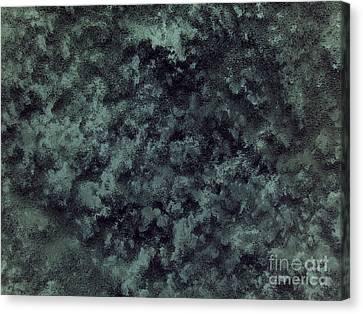 Black Snow Canvas Print by Silvie Kendall