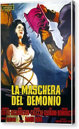 Black Sunday, Aka La Maschera Del Canvas Print by Everett
