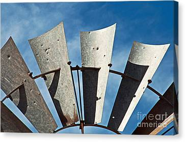 Blades Canvas Print by Bob and Nancy Kendrick