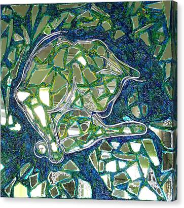Blanco Canvas Print by Hatin Josee
