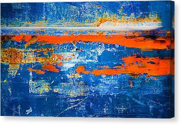 Blaze Of Glory Canvas Print by David Clanton