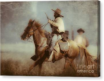 Blazing  Canvas Print by Kim Henderson
