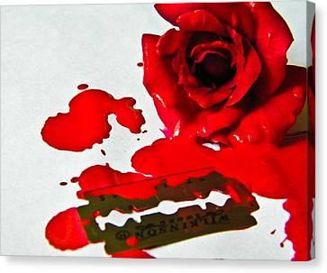 Bleed Canvas Print by Prashant Ambastha