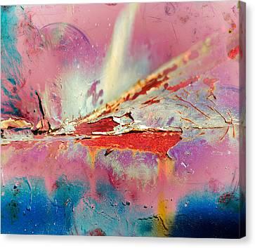 Bleeding Colours  Canvas Print