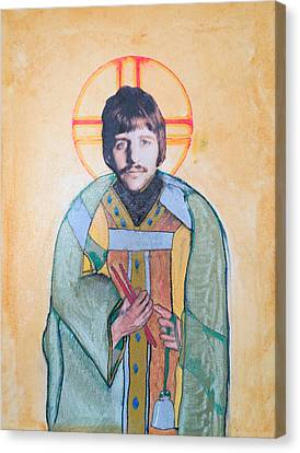 Blessed Ringo Canvas Print by Philip Atkinson
