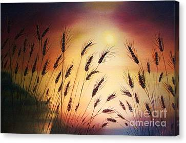 ''blessed Seeds Collection'' Canvas Print