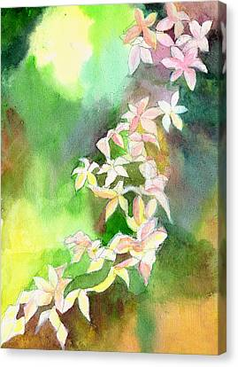 Blessings 1 Canvas Print by Anil Nene