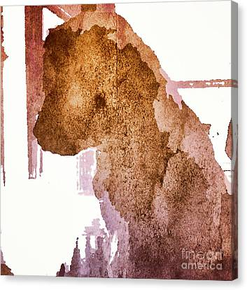 Blind Dog Winston Canvas Print by Christine Segalas
