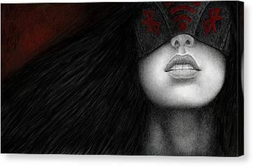 Goth Canvas Print - Blinders by Pat Erickson