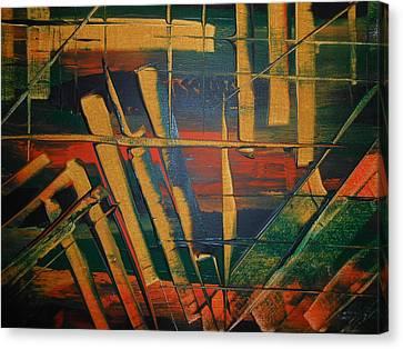 Blocked-2 Canvas Print by Lisa Williams