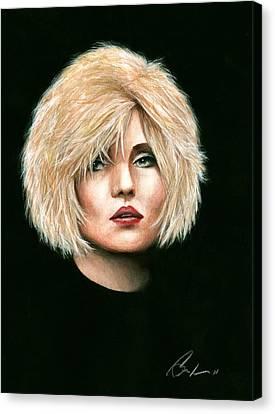 Blondie Canvas Print by Bruce Lennon