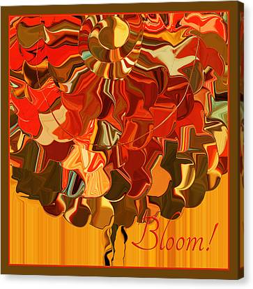 Bloom Canvas Print by Bonnie Bruno