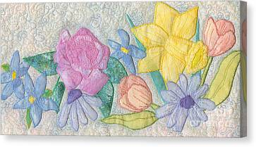 Bloomin' Favorites Canvas Print by Denise Hoag
