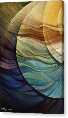Blowing Spirit Canvas Print by Salim Ahmad Gorwal