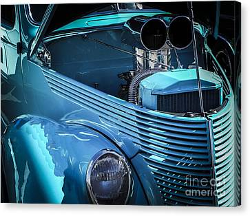 Blown Away Canvas Print by Chuck Re