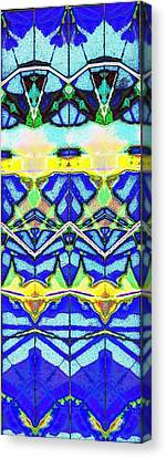 Blue 3 10 Canvas Print by Steven A Bash