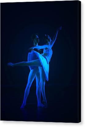 Blue Ballet Canvas Print by Jenn Harris