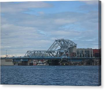 Blue Bridge Victoria Canvas Print