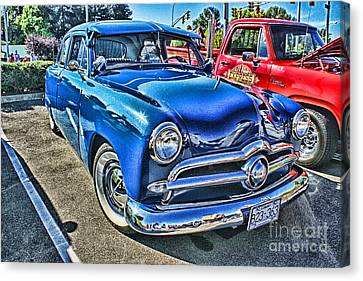 Blue Classic Hdr Canvas Print by Randy Harris