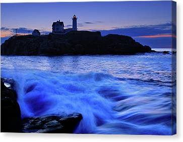 Blue Dawn Canvas Print by Rick Berk