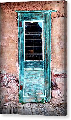 Blue Door 316 Canvas Print