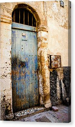 Blue Door Canvas Print by Marion McCristall