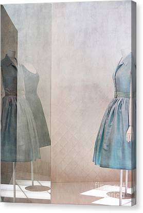 Blue Dress Canvas Print by Martine Roch