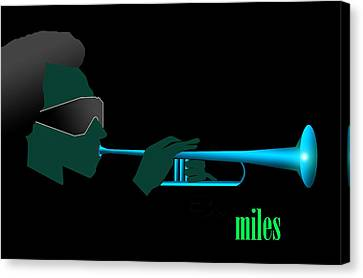 Canvas Print - Blue In Green by Victor Bailey