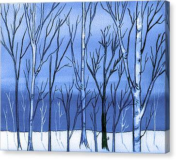 Blue Interlude Canvas Print