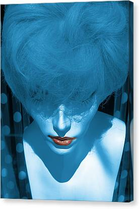 Blue Kiss Canvas Print