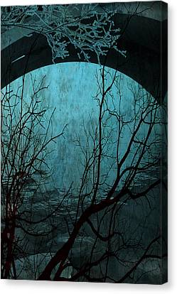 Blue Lagoon  Canvas Print by Jerry Cordeiro