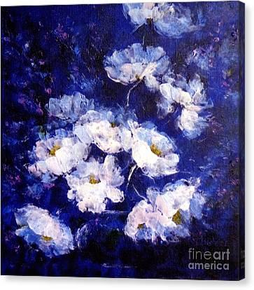 Blue Mood Canvas Print by Madeleine Holzberg