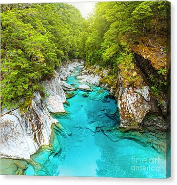 Blue Pools Canvas Print by MotHaiBaPhoto Prints