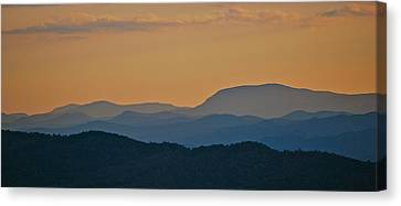 Blue Ridge Sunset Canvas Print