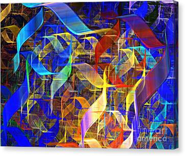 Blue Shift Canvas Print by Kim Sy Ok
