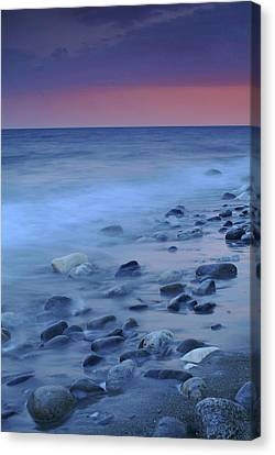 Blue Stones Canvas Print by Guido Montanes Castillo